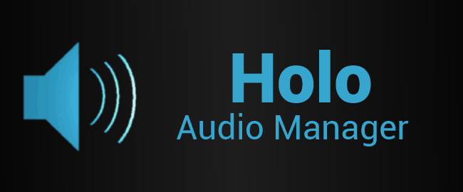 holo-audio-manager