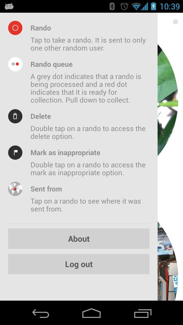 Losowa aplikacja na Androida